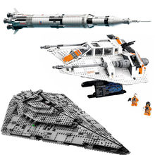 Star Series WarsStar Destroyer Model Set Building Blocks Bricks Assembly Toys Christmas Gift compatible 75190 21309 75144(China)