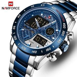 NAVIFORCE Watch Men Luxury Bra