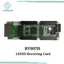 Cartão de recepção rv907h do receptor do armário da tela do diodo emissor de luz da cor completa de linsn