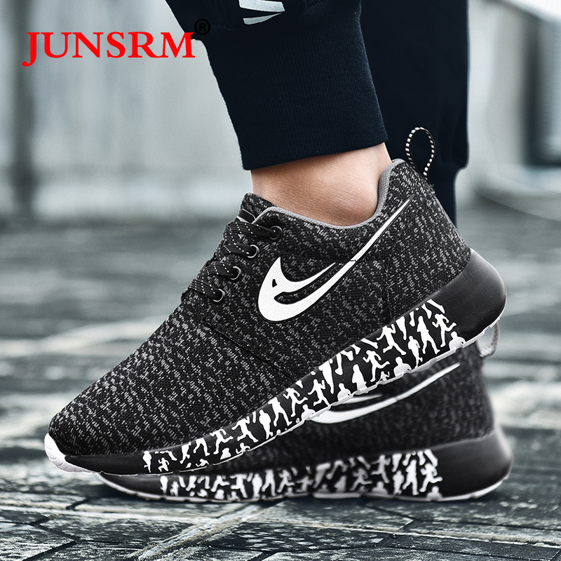 Hot Sale Man Running Shoes For Men Outdoor Breathable Sport Shoes Women Comfortable Athletic Flat Shoes Lightweight Sneakers