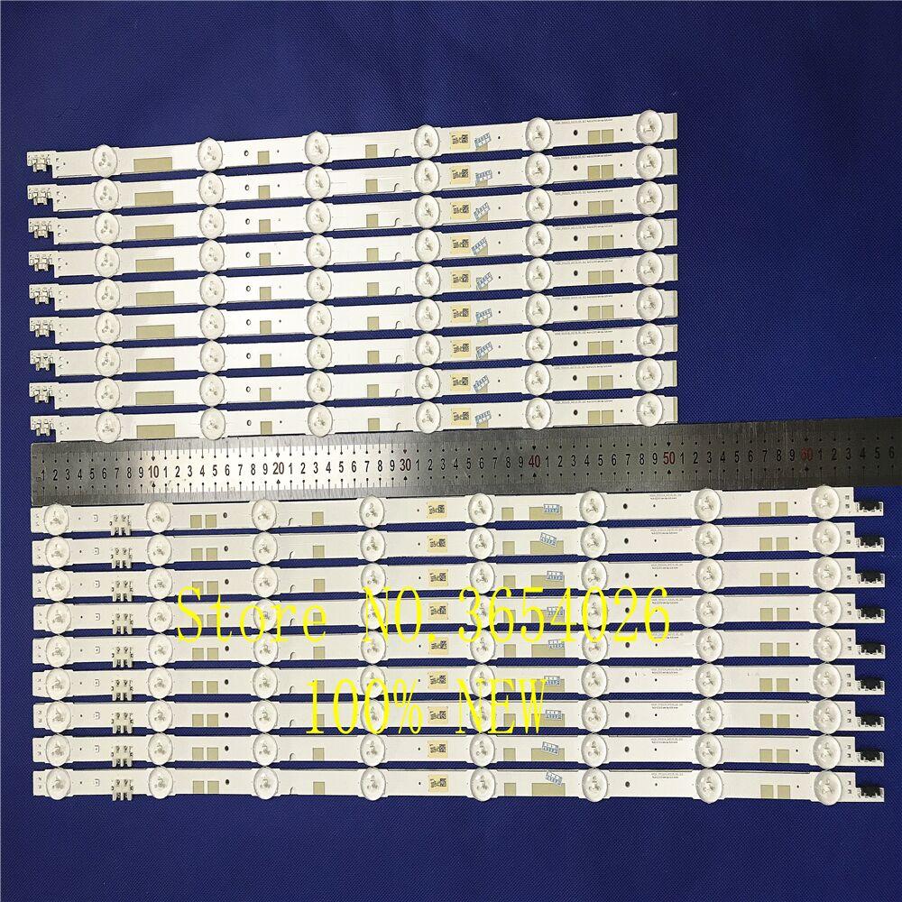18PCS/set  LED Backlight Strip 14 Lamp For Samsung 55
