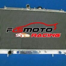 Алюминий радиатор для Mitsubishi Galant VR-4 VR4 EC5A/EC5W 6A13TT 2-турбо двигатель 1996-2003 97 98 99 00 01 02