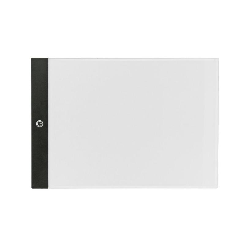 A4 Digital Tablets A4 LED Graphic Artist Thin Art Stencil Drawing Board Light Box Tracing Table Pad Drawing Graphic Tablets