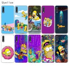 Uyellow Homer Draw Simpson Phone Case For Samsung A10 A20 A30 A40 A50 A60 A70 A80 A20E Cover Galaxy M10 M20 M30 M40 Coque