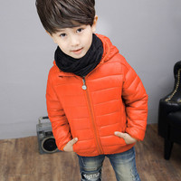 2019 New thick children's cotton down jacket for winter boys and girls wear short warm baby winter children's jacket