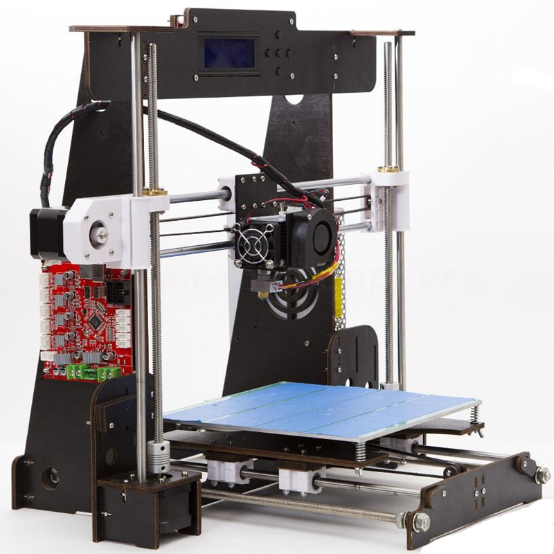 CTC A8 3D Printer High Precision Impresora 3D LCD Screen Aluminum Hotbed Extruder Printers DIY Kit Imprimante 3D Printer 2