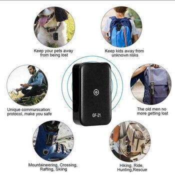 GF21 Mini GPS Real Time Car Tracker Anti-Lost Device Voice Control Recording Locator HD Microphone WIFI+LBS+GPS Pos Locator 4