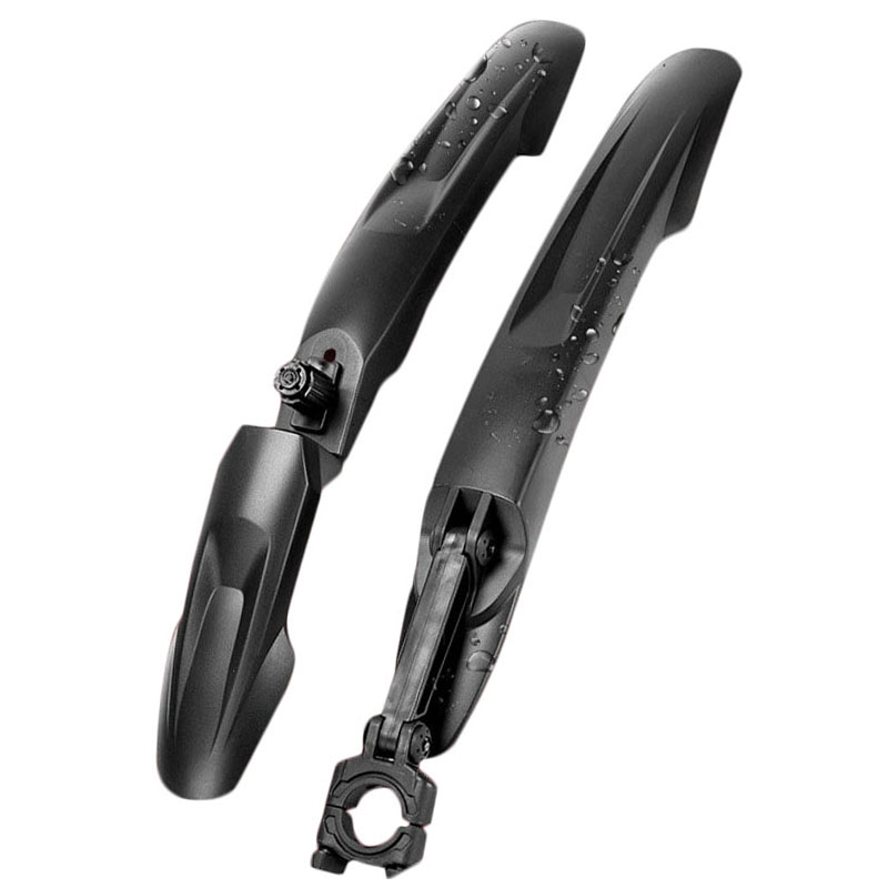 2 PCS Front Rear Bicycle Mud Guard MTB Bike Fender 24 26 27.5 29 Inch Quick Release Bike Wings Lengthen Durable Wheel Fenders