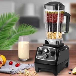 Image 2 - BPA Free 3HP Heavy Duty Blender do zastosowań komercyjnych mikser sokowirówka High Power robot kuchenny Ice Smoothie Bar owoce Blender elektryczny