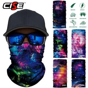Image 1 - 3D бесшовная Галактическая Балаклава, волшебная маска для лица, чехол, теплая мотоциклетная Лыжная повязка на шею, Байкерская велосипедная бандана, трубчатый шарф для мужчин и женщин