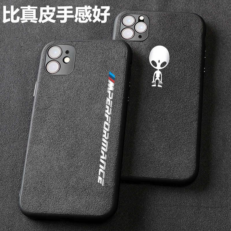 Turno pelliccia Da Corsa del metallo Cassa Del Telefono per il iphone 12 X XR performan XS 11 pro Max 7 6 6S 8 plus per Samsung Galaxy S8 S9 S10 s20 Più