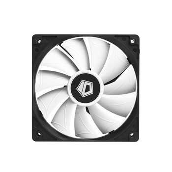 XF-12025-SD-W 120 x 120 x 15mm PWM PC Case Fan Black Frame White Blade Computer Chassis Cooling Fan Accessories PC Case Fan image