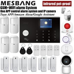 home wifi GSM alarm system wir