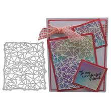 Rectangle Frame Scrapbook Spider Web Cut Die Mold Metal Cutting Dies Embossing Card Paper Craft Knife Mould Blade Punch Stencils