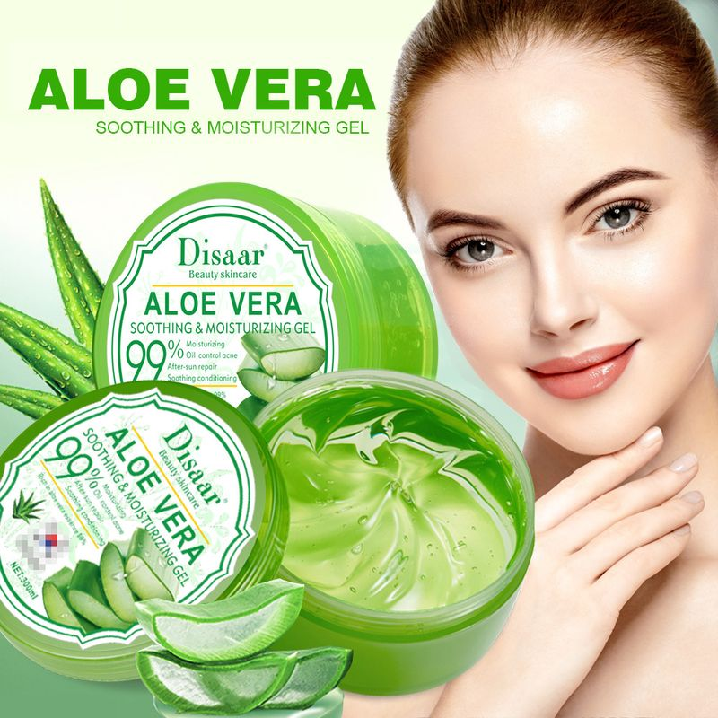 LAIKOU 99% Aloe Vera Gel Soothing Aloe Vera Gel Remove Acne Moisturizing Face and Body Day Cream After Sun Lotions Aloe Gel Skin 1