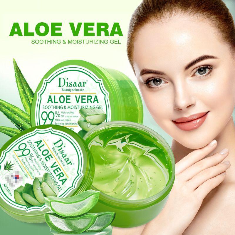 LAIKOU 99% Aloe Vera Gel Soothing Aloe Vera Gel Remove Acne Moisturizing Face and Body Day Cream After Sun Lotions Aloe Gel Skin 1