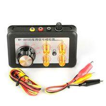 Sensore di temperatura del simulatore di segnale del veicolo 12V Tester automobilistico sensore di pressione della guida del Tester acqua/carburante sensore dellalbero motore