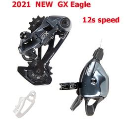 Novo 2021 sram gx eagle groupset kit 1x12 velocidade gatilho shifter alavanca desviador traseiro gaiola longa 10-52t cassete compatível