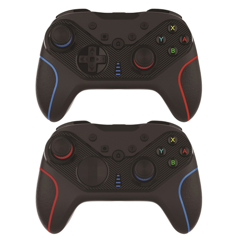 Wireless Gamepad Joypad Remote Controller Joystick for NS Switch Pro & PC, 6-Axis Gyro Support Turbo & Dual Vibration