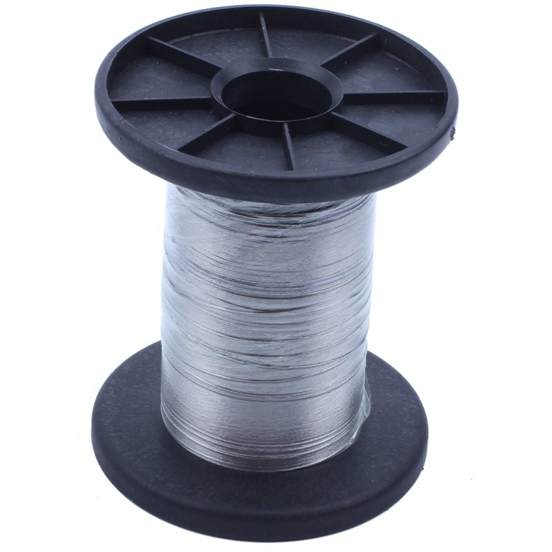 30M 304 Stainless Steel Wire Roll Single Bright Hard Wire Cable, 0.3Mm