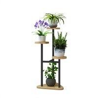 Pendurado orquídea prateleira sala de estar quarto flor estande multi-camada interior specials ferro forjado varanda flor estande prateleira casa