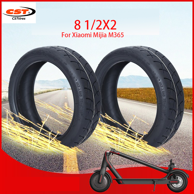 Original Tire Tyre CST Tube For Xiaomi Mijia M365 Scooter Inflatable Tyre 8 1/2X2 Inner Tube Tire For M365 Pro Replacement Wheel