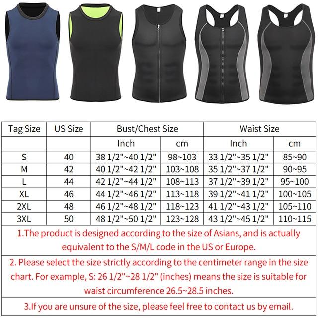Men Workout Body Shaper Waist Trainer Tummy Slimming Sheath Abs Abdomen Shapewear Tops Slimming Trimmer Belt Vest Sweat Corset 5