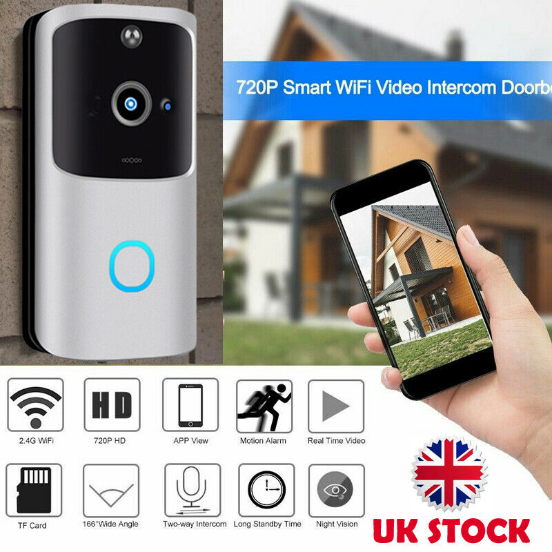 2020 HOT Smart Home Doorbell WIFI Wireless Video Intercom Door Bell Camera Monitor Battery Powered Remote Control IOS Android