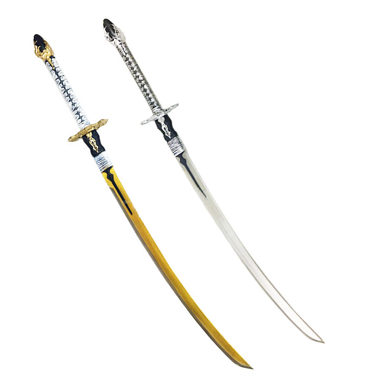 Neil Machine Age 2b Miss 9s Sword White Contract Knife Big Sword Cosplay Props Pu Machete Simulation Toy Sword Toys Kids