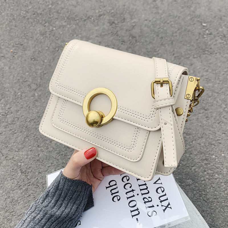 Small Pu Leather Crossbody Bags For Women 2020 Chain Shoulder Messenger Bag Ladies Travel Chain Handbags Fashion Style