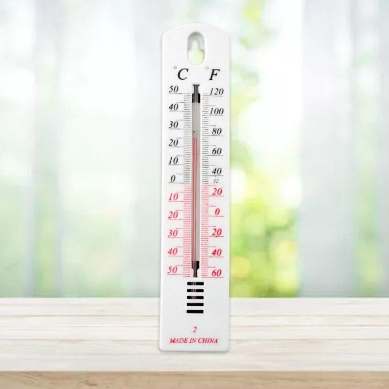 Домашний настенный висячий термометр (по Цельсию по Фаренгейту Дисплей крытый монитор 87HA