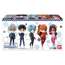 5pcs Original EVA Primostyle 2 Toy Action Figures Model Nagisa Ikari Shinji Ayanami Rei Asuka Langley Collectible Figures Dolls