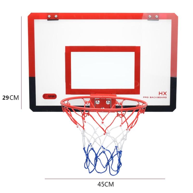 Мини баскетбольная корзина с держателем, регулируемый баскетбольный стенд для занятий спортом на открытом воздухе, детские игрушки для мальчиков, спортивные E5