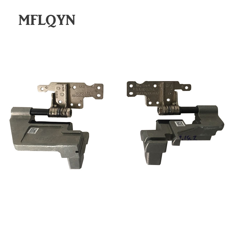 NEW lcd hinges for For DELL Alienware M18X R3 LCD HINGES AM0UN000500 AM0UN000400 Left & Right Screen Hinges Set Laptop Lcd Hinge