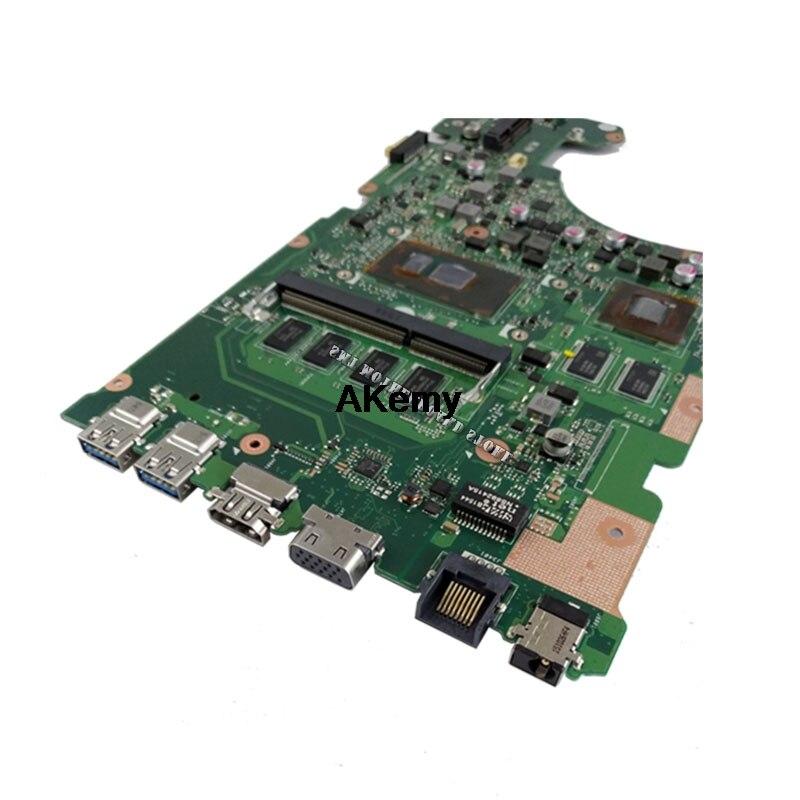 X555UJ Laptop motherboard para ASUS X555UJ X555UF F555U X555UB X555UQ mainboard original 4G-RAM I5-6200U