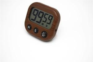 Image 5 - Manyetik LCD dijital mutfak geri sayım sayacı Alarm standı ile beyaz mutfak zamanlayıcı pratik mutfak zamanlayıcısı çalar saat