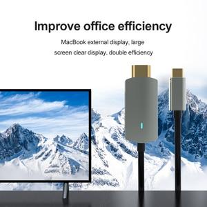 Image 2 - USB סוג C מתאם USB 4K 1080P HDMI ממיר עבור MacBook Samsung Galaxy S9/S8/הערה 9 Huawei USB C כבל וידאו כבל