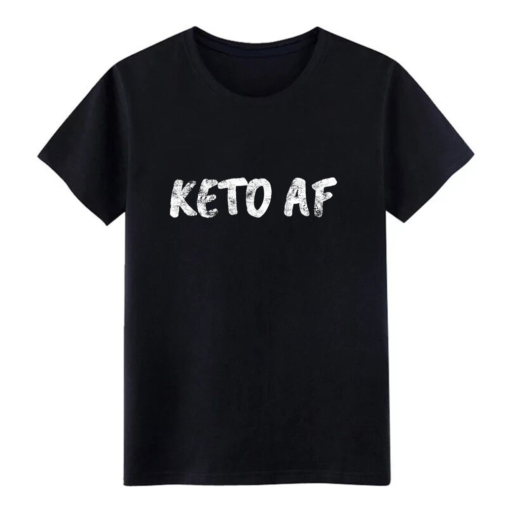 KETO AF Baseball t shirt Character cotton S-XXXL Novelty Interesting Casual Spring Family shirt