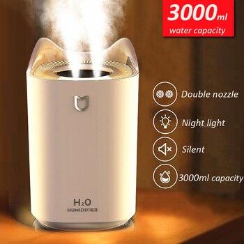 Humidificador de aire para el hogar, difusor de Aroma de niebla fría...
