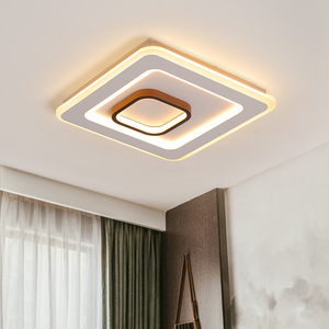 Image 5 - Remote control Surface Mounted Modern Led Ceiling Lights lamparas de techo Rectangle acrylic led Ceiling lights lamp fixtures