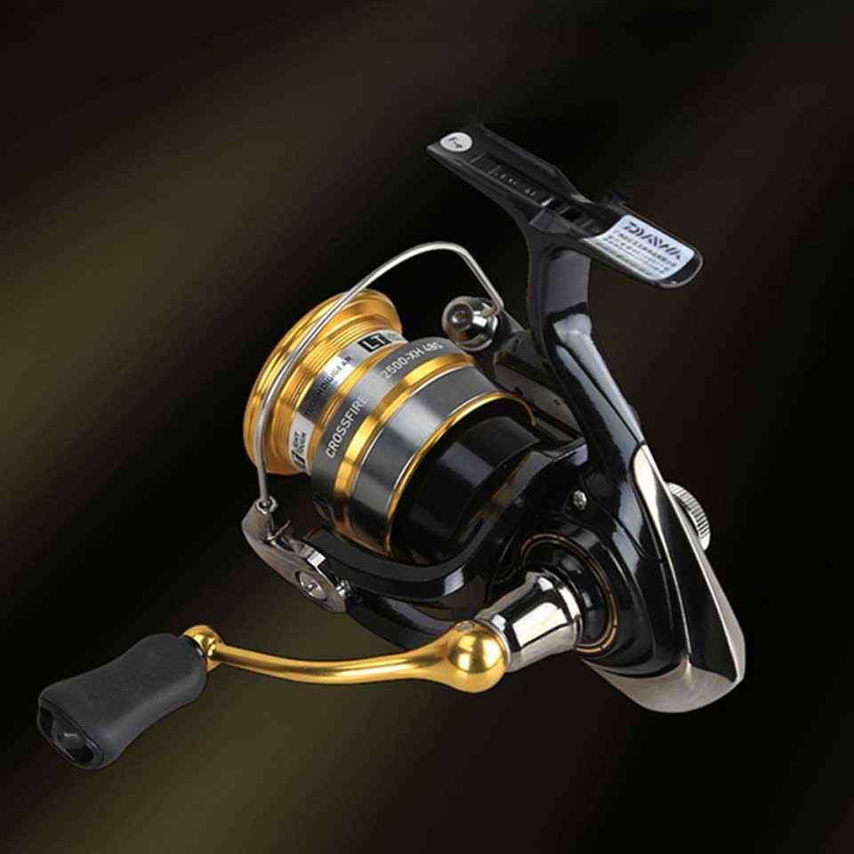 DAIWA bobine CROSSFIRE LT moulinet de pêche 1000-6000 ABS Metail bobine 5-12KG puissance dur engrenage lumière et corps dur