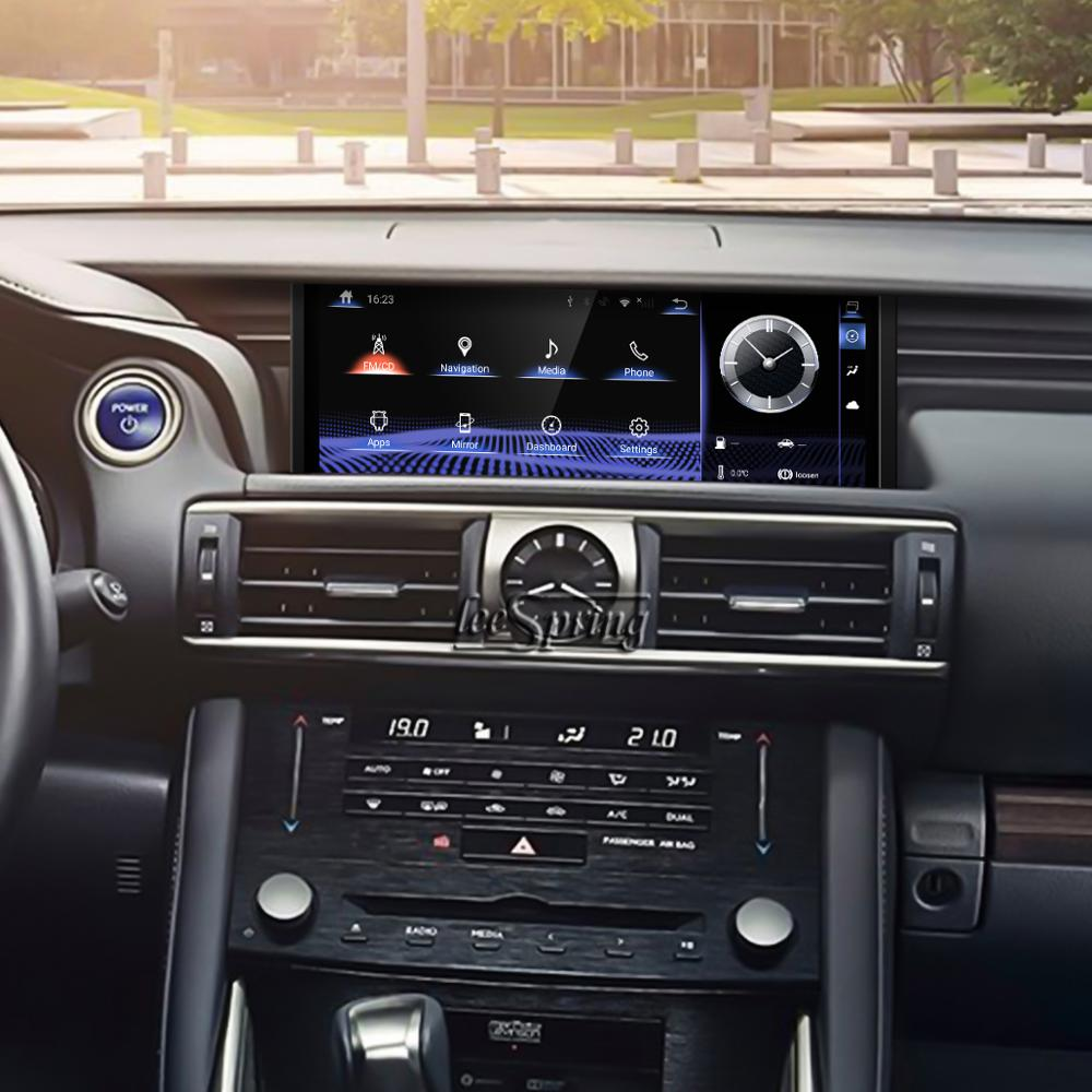 10.25 inch <font><b>Android</b></font> 9.0 Upgraded Original Car Screen multimedia Player for <font><b>LEXUS</b></font> <font><b>IS</b></font> 2013-2017 Original Car with Joystick Control image