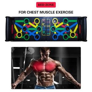 14 в 1 нажимная стойка для занятий спортом, занятий спортом, фитнесом, тренажеры для тренажерного зала, доска для тела, ABS, для тренировки мышц ...
