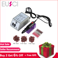 Professional Electric Nail Drill Machine Manicure Machine 20000RPM Nail Art File Ceramic Nail Drill Bits 18w electric manicure drill nail machine with 6 drill bits