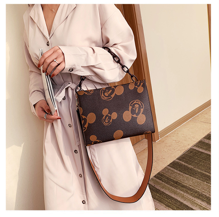 women bags 2020 high quality mickey handbags lady shoulder crossbody bags for women messenger bag waterproof tote bolsa feminina