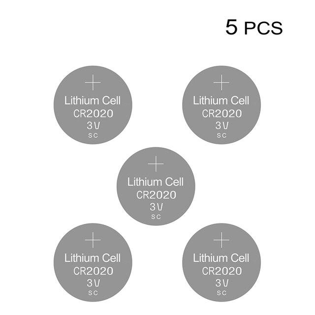 ליתיום כפתור לחצן סוללות CR2020 3V שעון סוללה CR 2020