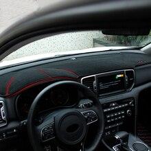 Для LHD KIA Sportage QL автомобильный Противоскользящий коврик, коврик для приборной панели, светоотражающий протектор, коврик, летние аксессуары для интерьера