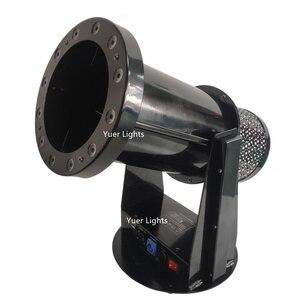Image 3 - Ücretsiz kargo yüksek kalite 1200W Led düğün konfeti topu makinesi düğün makinesi konfeti makinesi için parti LED kulüp ışığı