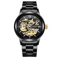 2020 nova fngeen men relógio automático esporte mecânico relógio de luxo marca superior dos homens relógios montre homme