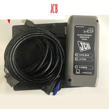 Narzędzie diagnostyczne budowlane DLA JCB elektroniczne narzędzie serwisowe DLA JCB ServiceMaster koparka rolniczy skaner diagnostyczny